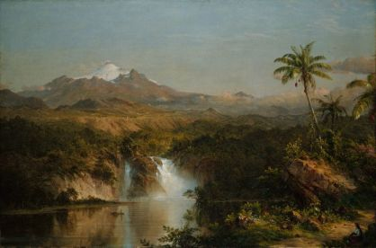 View of Cotopaxi, 1857. Frederic Edwin Church, American, 1826-1900.